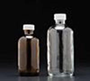 Picture of 1 oz, 30mL Amber Boston Round Bottle, 20-400mm Thread - 432 Bulk Pack