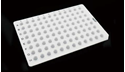 Picture of 0.1ml 96 Well PCR Plate, No Skirt 402111