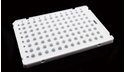 Picture of 0.1ml 96 Well PCR Plate,Semi Skirt,white 402411